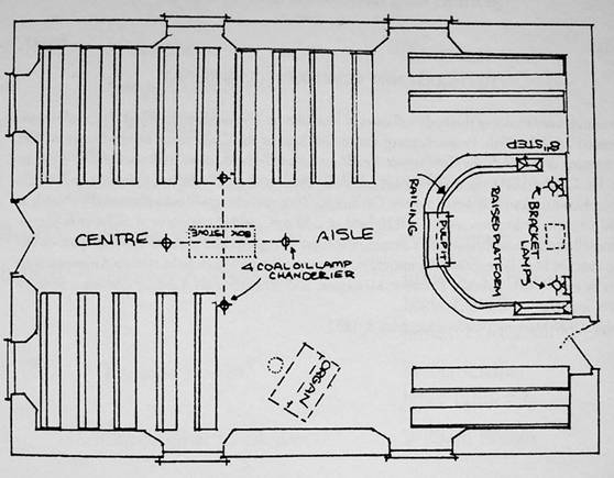 puslinch township history ellis chapel enduring and everlasting karr wiring diagram the approximate dimensions of ellis church are forty feet by thirty feet the interior furnishings are best to be considered as shown in the original layout